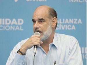 Michael Healy, presidente del Consejo Superior de la Empresa Privada (Cosep) de Nicaragua, en una fotografía de archivo.