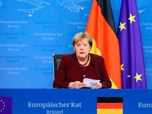 Canciller alemana, Angela Merkel.