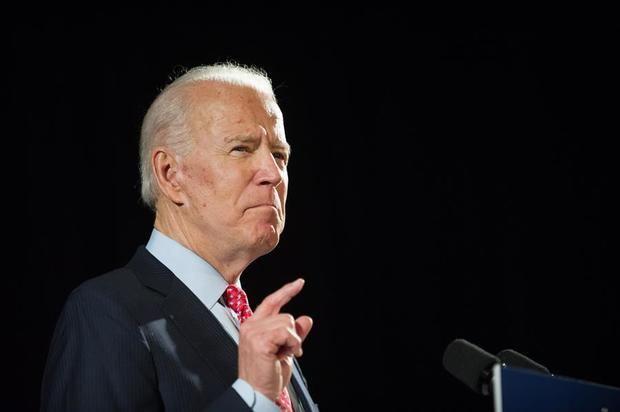 En la imagen, el candidato presidencial demócrata, Joe Biden.