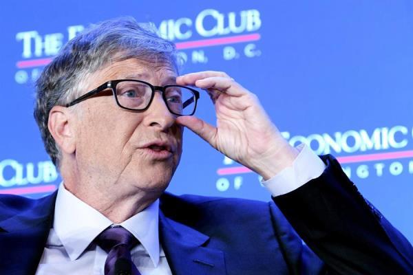 En la imagen, el fundador de Microsoft, Bill Gates