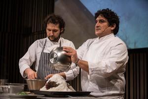 Foto cedida por el Basque Culinary Center (BCC), organizador de una charla, hoy, a la que ha asistido. el argentino Mauro Colagreco,y quien ha opinado que la crisis de la COVID-19 será 'un tropezón, pero no una caída' para un sector que debe 'adaptarse' y 'volver su mirada a la naturaleza.