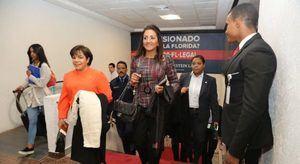 Primera dama viaja a Dubai, participará en actos de Juegos Mundiales de Olimpíadas Especiales