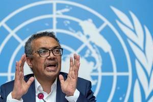 En la imagen, el director general de la Organización Mundial de la Salud (OMS), Tedros Adhanom Ghebreyesus.