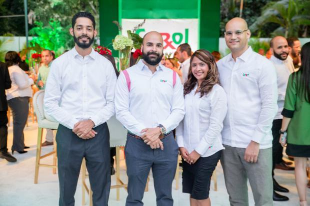 Jennison Guzmán, Carlos Gómez, Jinette Díaz y Máximo Patiño.
