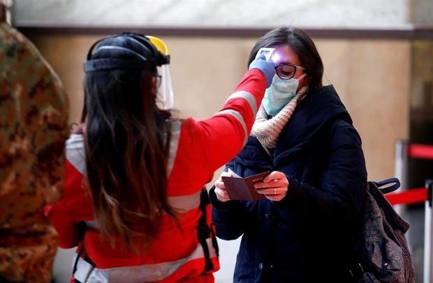 Italia registra el menor número de contagios con coronavirus en veinte días.