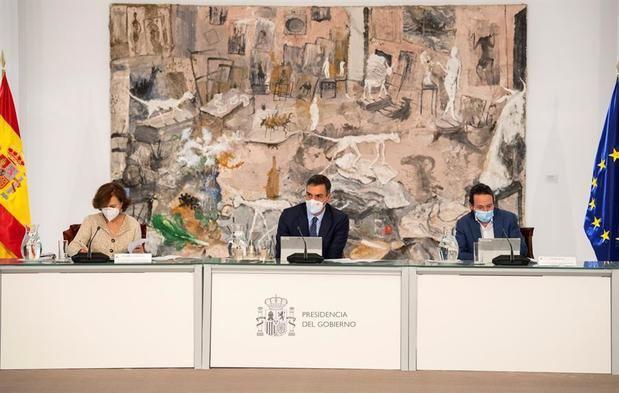El Gobierno Español se reúne para estudiar un nuevo decreto de estado de alarma