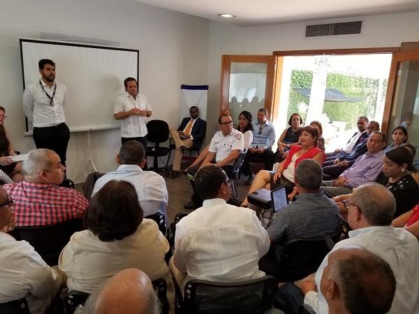 Oficina Senatorial de Puerto Plata y la Usaid realizan encuentro