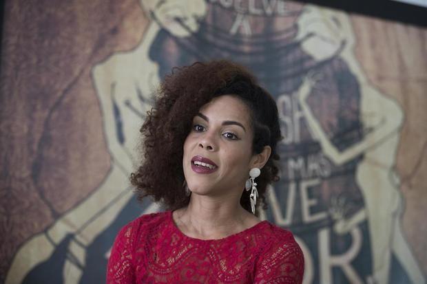 En la imagen, la actriz dominicana Judith Rodríguez, protagonista de 'Rafaela'.