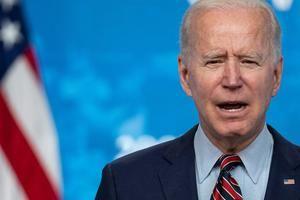 El presidente de Estados Unidos, Joe Biden, habla durante un evento sobre el proceso de vacunación del país, este 21 de abril de 2021 en Washington, EE.UU.