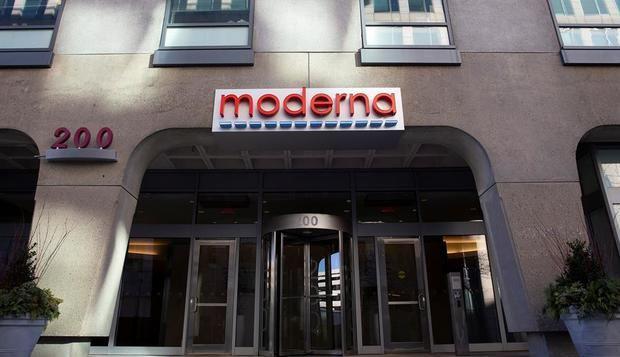 En la imagen, la sede en Cambridge de la empresa de biotecnología Moderna.
