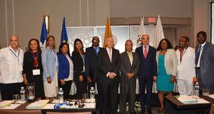 Participantes en el evento ACP de Desarrollo del Sector Privado.