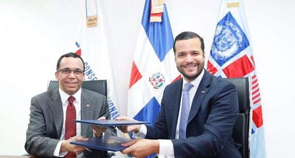 Competitividad y Minerd firman acuerdo por la calidad institucional