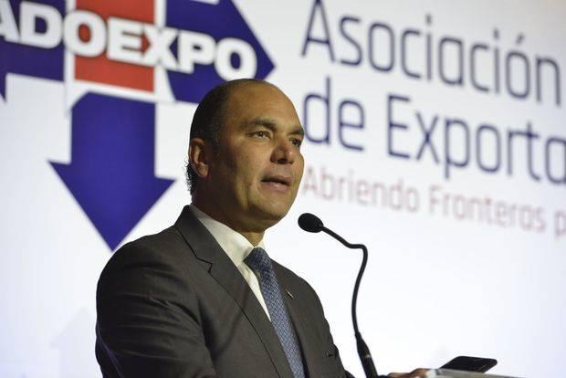 El director general de Aduanas  Enrique Ramírez.