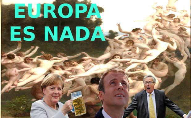 """La Unión Europea es """"nada"""" sin Estados Unidos"""