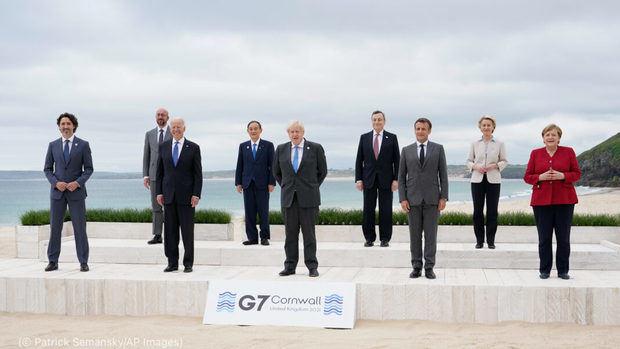 Líderes del G7 se comprometen a contrarrestar el cambio climático