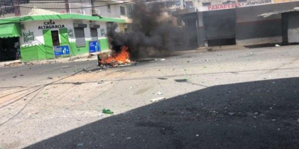 Se registran protestas en el país a causa de apagones