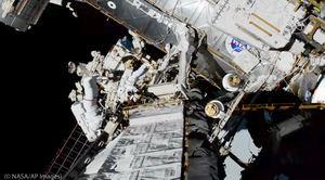 Mujeres astronautas de la NASA hacen historia.