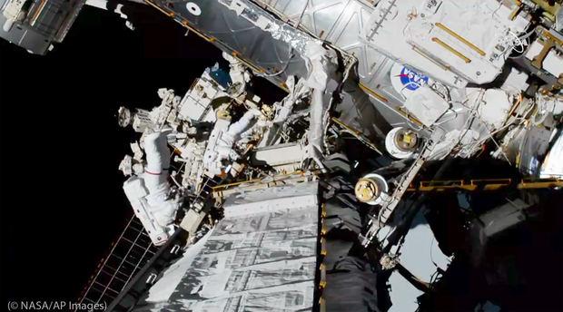 Mujeres astronautas de la NASA hacen historia