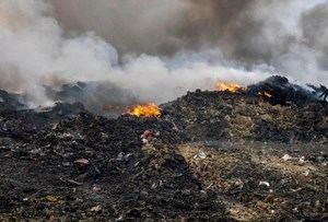 Abinader ordena intervenir el vertedero de Haina, afectado por nuevo incendio.