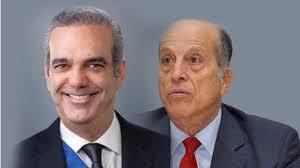 Presidente Abinader y Max Puig.