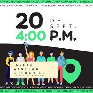 Invitación a la concentración por celebración de Movilización Mundial por el Clima.