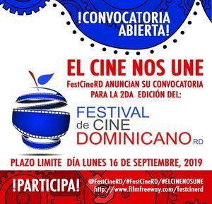 """Festival de Cine Dominicano anuncia convocatoria para su 2da. edición con el slogan """"El cine nos une"""""""
