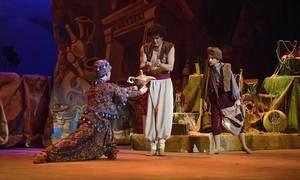 Escenografía Aladino, Teatro Nacional.