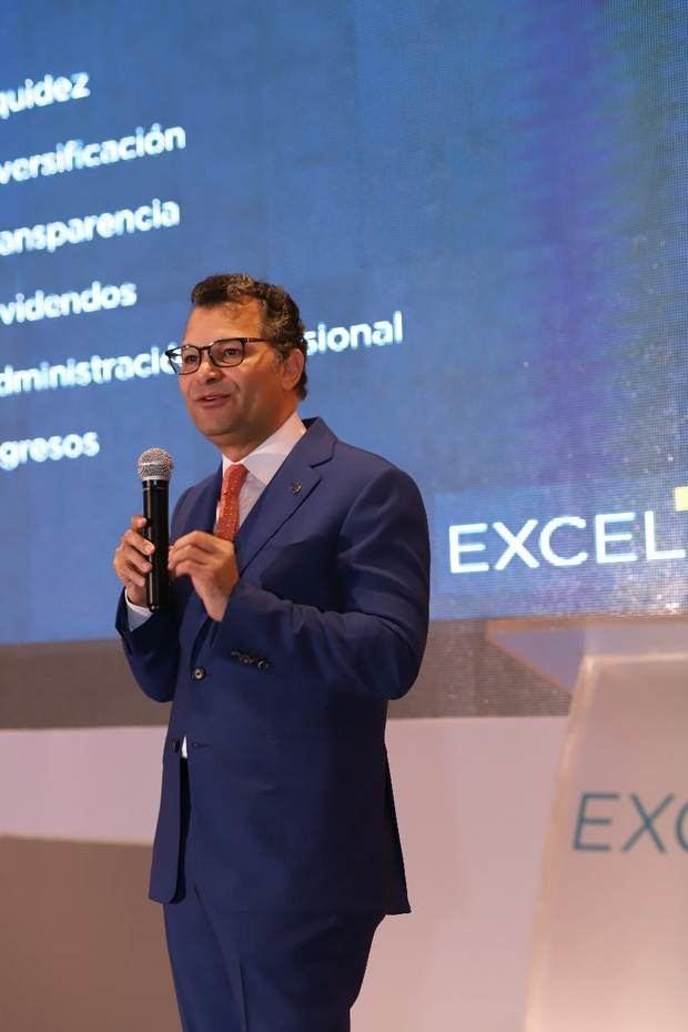Alberto Cruz, presidente de Excel.