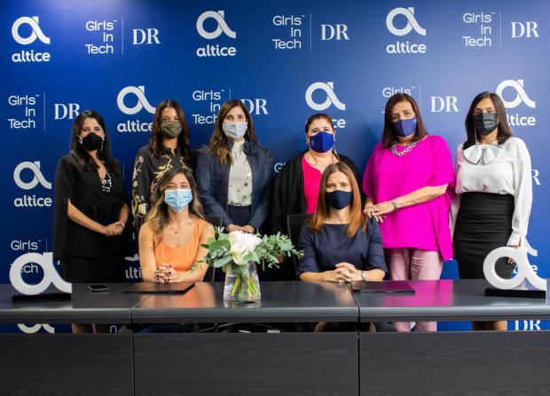Altice y Girls In Tech acordaron captar y desarrollar mujeres en ciencias y tecnología