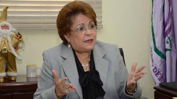 Alejandrina Germán afirma el PLD no utiliza recursos económicos del Estado para campaña