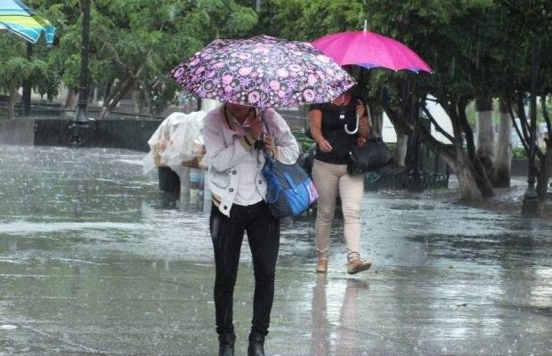 Una vaguada generará precipitaciones en parte del país mañana martes