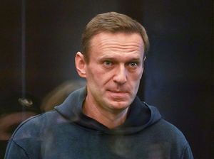 Alexei Navalny, durante su comparecencia ante la Corte en Moscú.