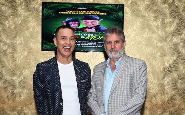 Alexis Valdés y Joaquín Geara.