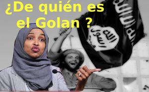 ¿De quién es el Golan.