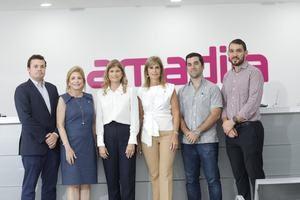 Marcos Bergés, Patricia González, Pilar González, Jackeline González, Ricardo Tarrazo, Bryant Ceballos.