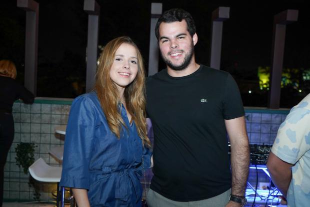 Amanda Holsteinson y Christian Infante.
