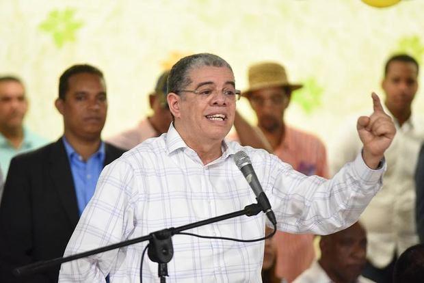 Precandidato presidencial del Partido de la Liberación Dominicana, PLD, Carlos Amarante Baret.