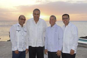 Henry Ulloa,Jaime Tavarez,Humberto Pichardo y Reinaldo Soto.