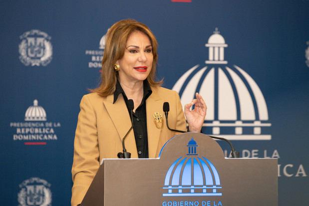 Anuncio a cargo de la vocera oficial de la Presidencia de la República, Milagros Germán.