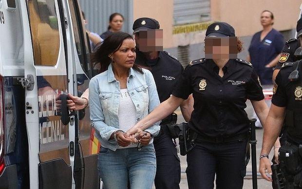 Dominicana Ana Julia Quezada, acusada de la muerte del niño español Gabriel Cruz en 2018.