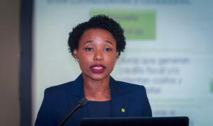 Ana J. Sierra, gerente de Facturación de la DGII,