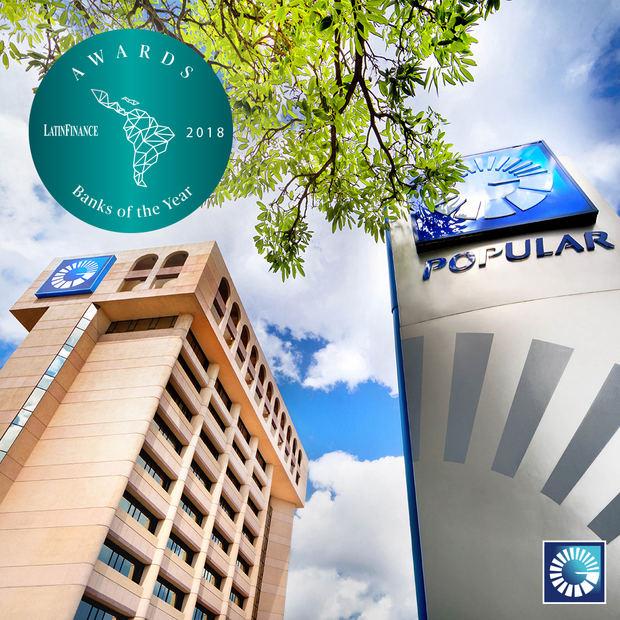 El Popular es reconocido como banco del año por LatinFinance