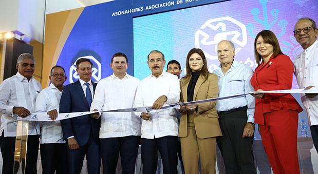En Punta Cana, Danilo Medina participa en apertura XXXIII Exposición Comercial ASONAHORES