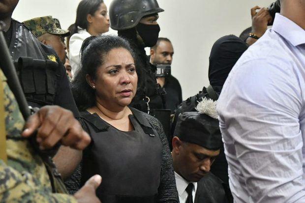 Marlin Martínez, condenada por su vinculación al asesinato de la adolescente Emily Peguero.