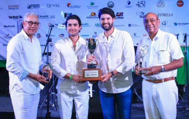 Pedro Manuel García, Juan J. Contreras, Miguel E. Subero y Federico Domínguez Aristy.