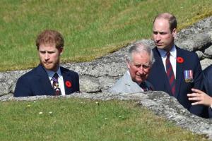 Príncipe Carlos y sus hijos