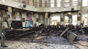 Una bomba deja al menos 17 heridos en el sur de Filipinas