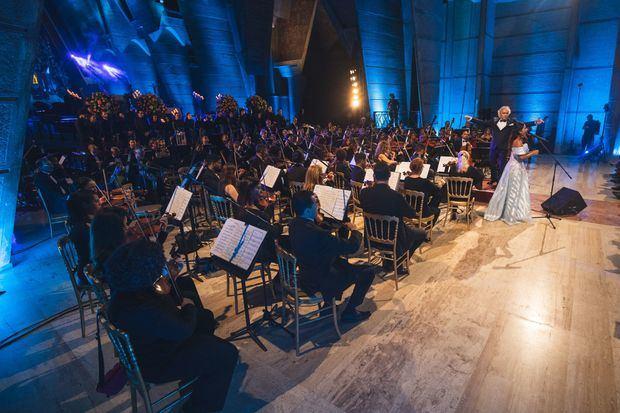 """Los asistentes al concierto disfrutaron piezas como """"Obertura Yaya"""" y """"Abril 21"""", del maestro José Antonio Molina."""