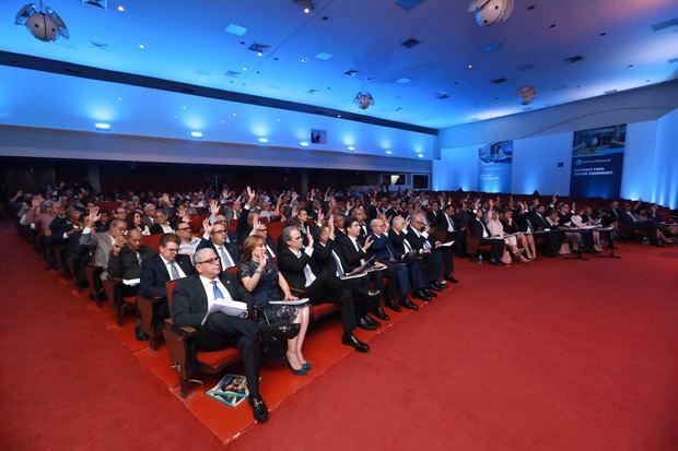 Los asambleístas de Grupo Popular conocieron y aprobaron el Informe escrito de Gestión Anual del Consejo de Administración.