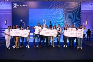 Los equipos ganadores recibieron premios en metálico de RD$150,000, RD$125,000 y RD$100,000, respectivamente.
